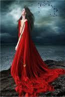 Leyenda de la dama de rojo