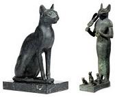 Bastes, la diosa gato